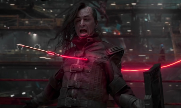 Jimmy Urine as a Ravager in Guardians of the Galaxy Vol 2