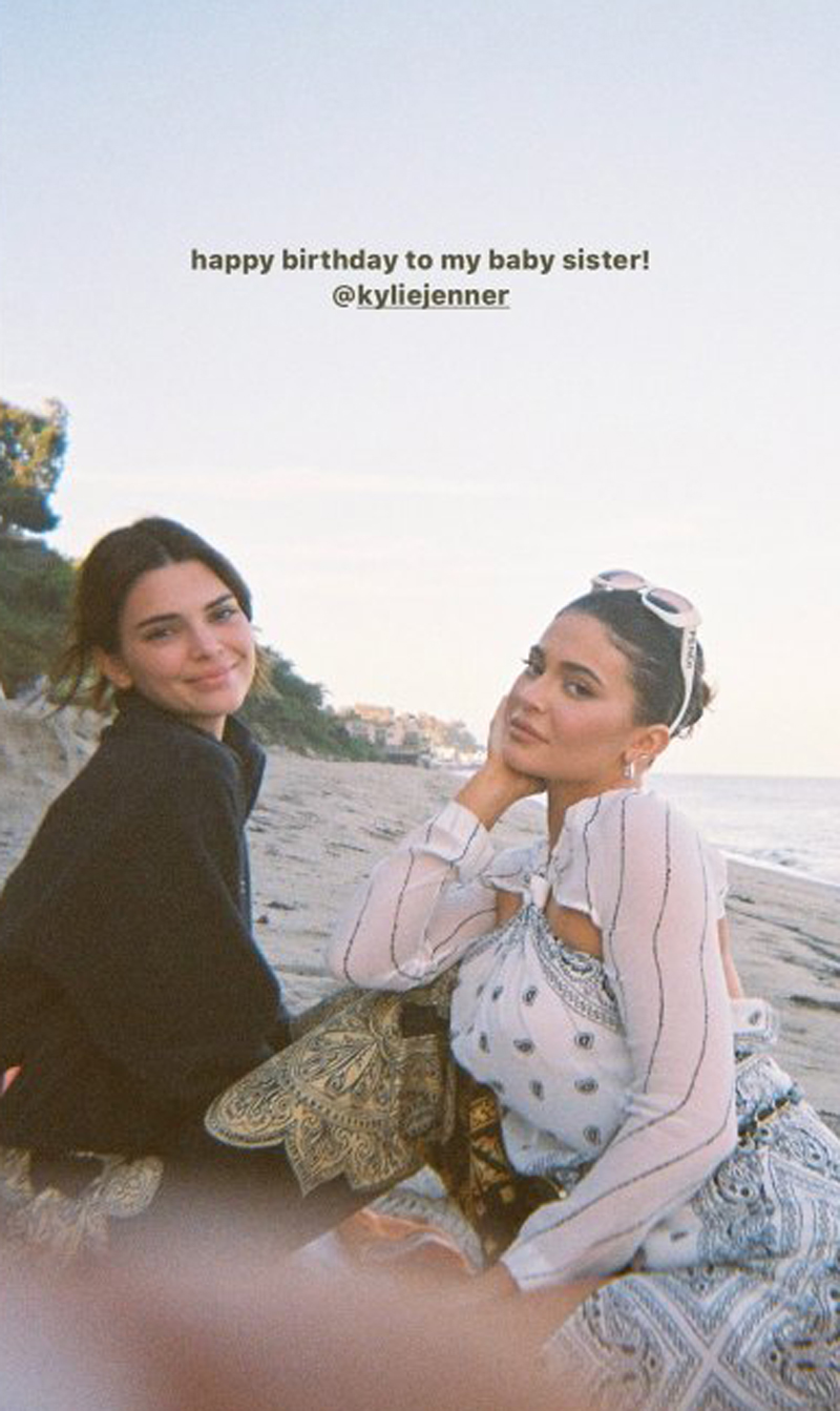 Kendall Jenner Kylie birthday tribute